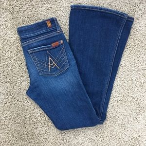 7 Seven Of All Mankind Little Girls A-Pocket Jeans